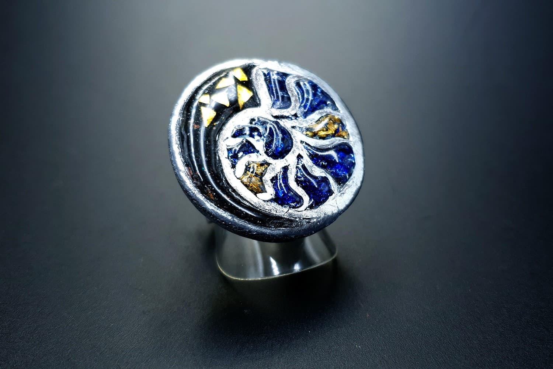 """Fossilized Treasure"" Ring"