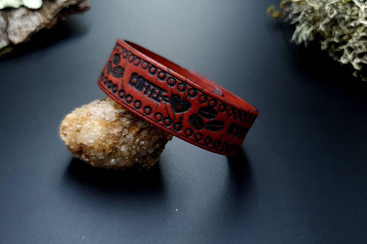 Faux Leather Bracelet #2