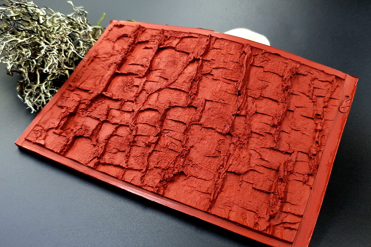 Silicone Texture Forest Tree Bark (Horizontal)- 135x85mm