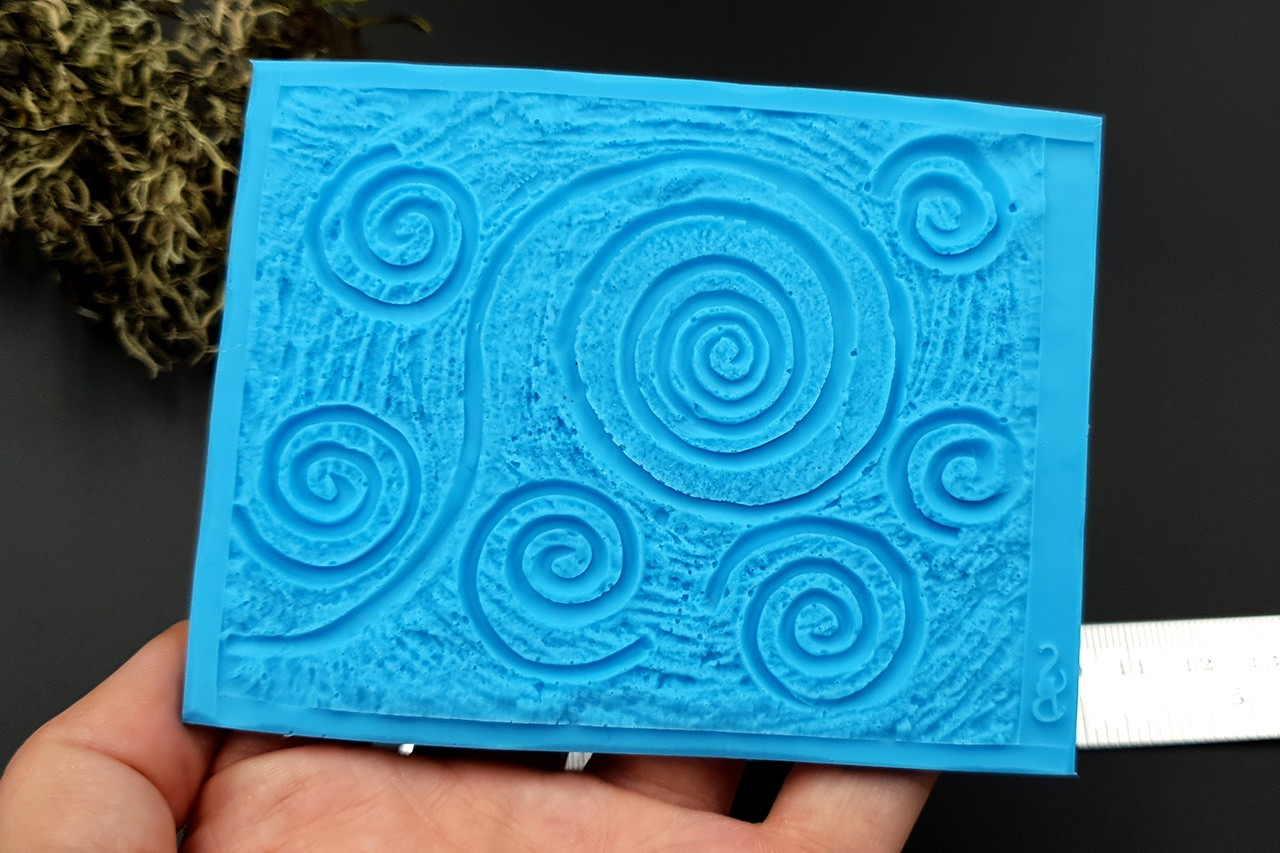 Silicone Texture Starry Night – 100x78mm