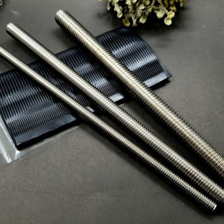 Set of 3 pcs textured metal rod tool for polymer clay
