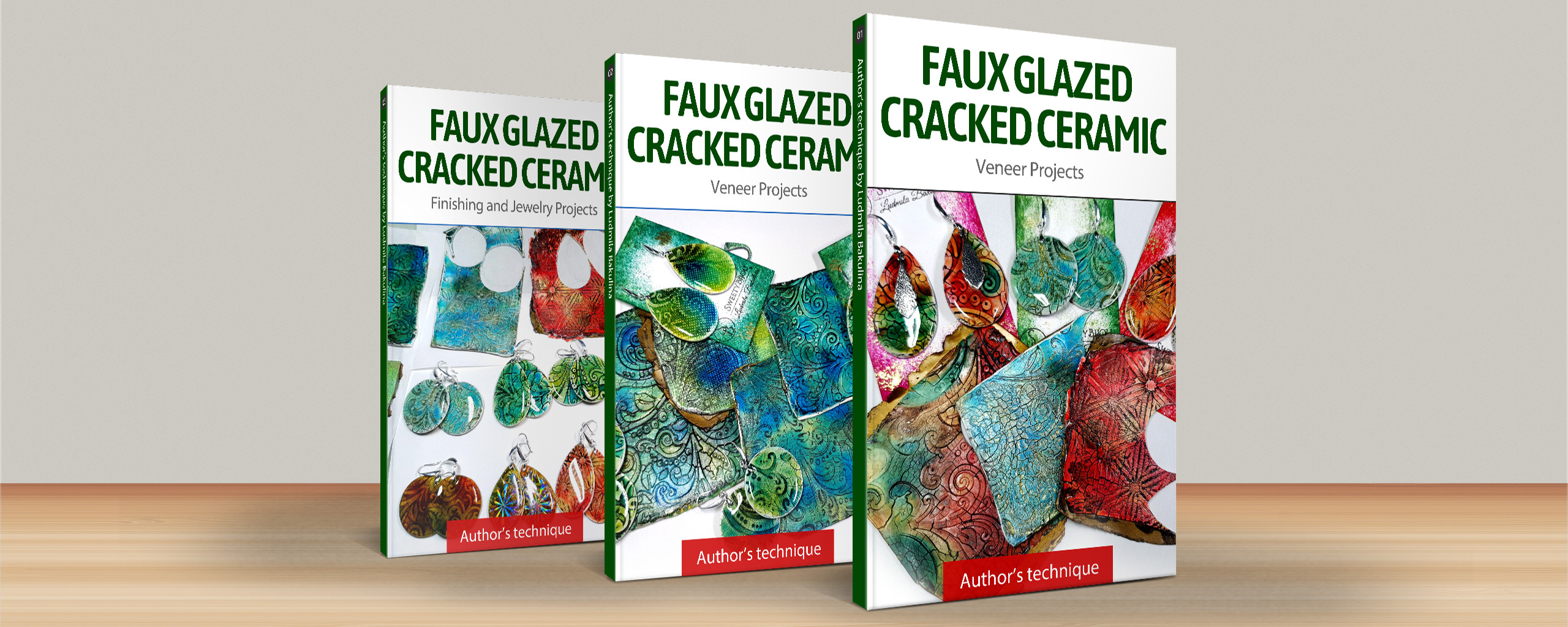 Faux Glazed Cracked Ceramic – Surface Technique