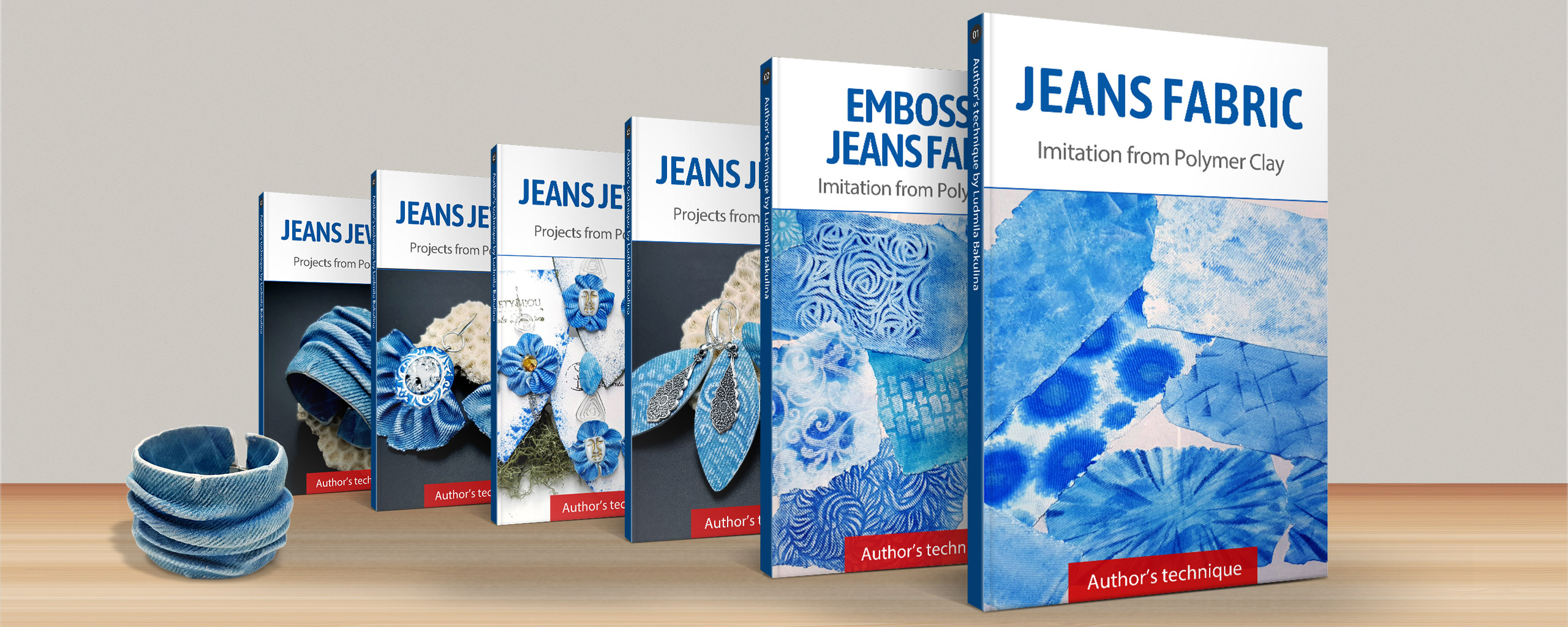 Faux Jeans/Denim Fabric – MEGA Polymer Clay Course