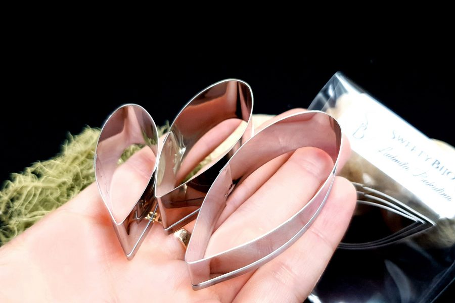 Stainless Steel Jewelry Petal Shapes Cutters (2)