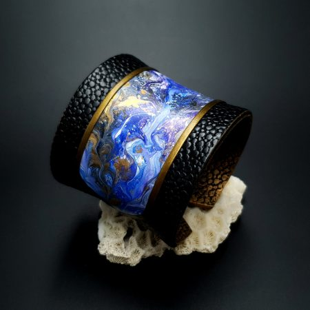 """Polymer clay Bracelet """"Magic Forest"""""""