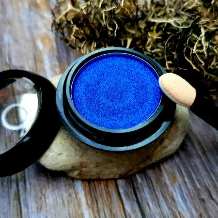 """Solid Pigment Powder """"Winter Sky Blue"""" with Metal and Chrome Effect"""
