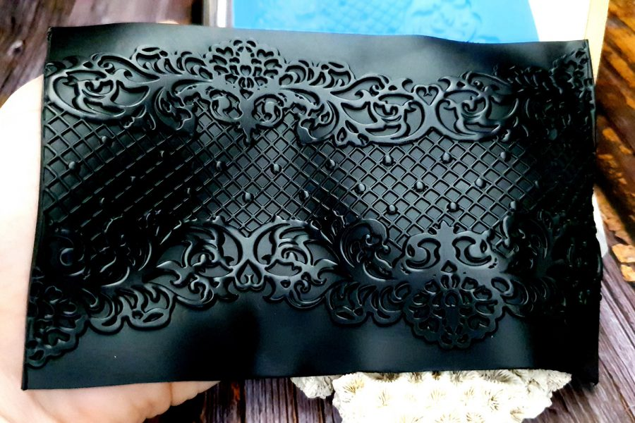 Lace Net Silicone Texture (100x145mm)