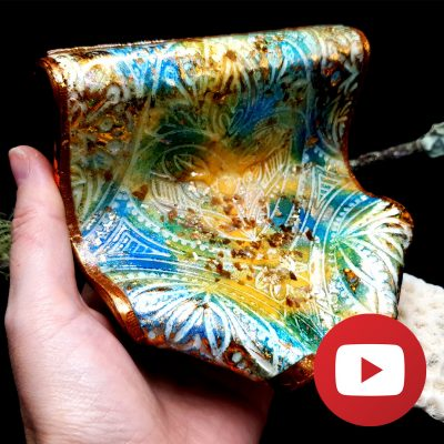 How to make a unique soap dish from polymer clay