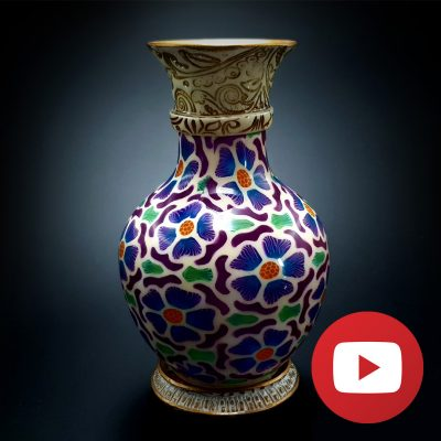 How to make candle vase tutorial