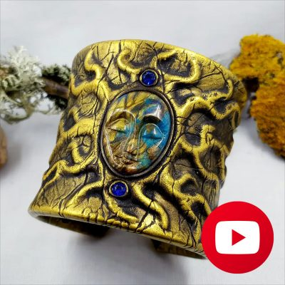 How to make an ancient bracelet with Goddes face