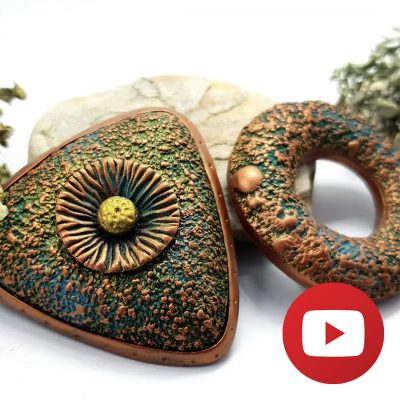 How to use sand textures for making hollow beads