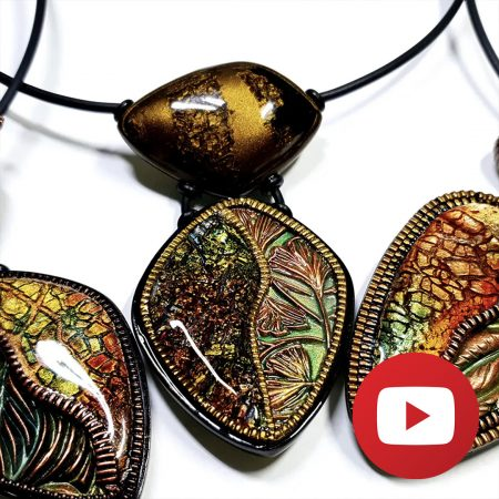 How to make unusual beads for a unique necklace